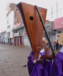 A lovely Andean harp - we only saw the one