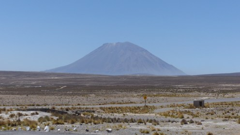 Volcan Misti, which overlooks the city of Arequipa