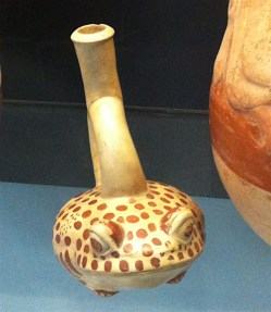 The Moche pottery is exquisite and is beautifully desplayed in an excellent museum next to the site