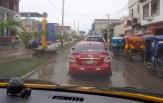 As we drove to the Ecuador border, Tumbes was flooded