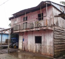 And we learnt from Richard later on, back in Iquitos, that the boat companies all have hotels in Tabatinga, on the Brazilian side, from where they will transport you to get on the boat early in the morning in Peru - although how the immigration process is completed then, we don't know