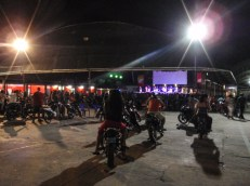 One weekend, we asked at our hotel where to go for live music and were told to get a moto-taxi to a particular stadium