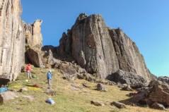 """Climbing on the """"bosque de piedras"""""""