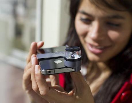 dot panoramic camera lens