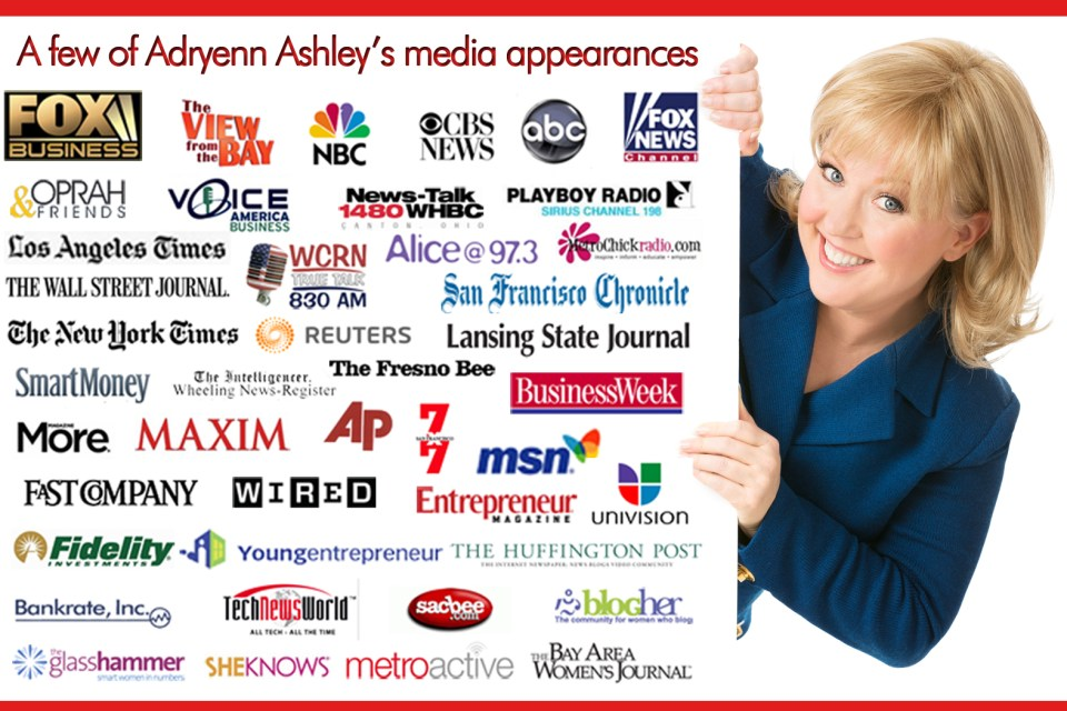 Do you impress the press? Learn how to make the media love you with Adryenn Ashley!