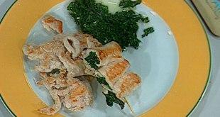 ıspanaklı tavuk