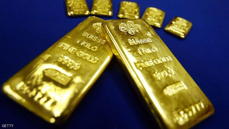 أسعار الذهب في الأسواق بسبب انخفاض الدولار الامريكي
