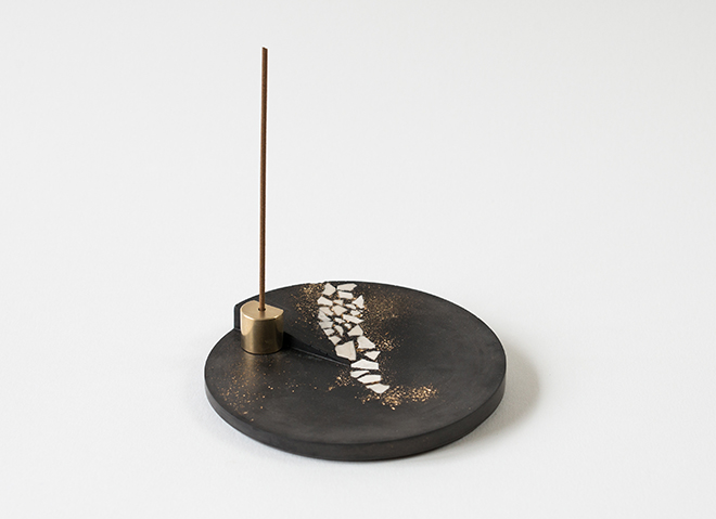rankaku incense burner
