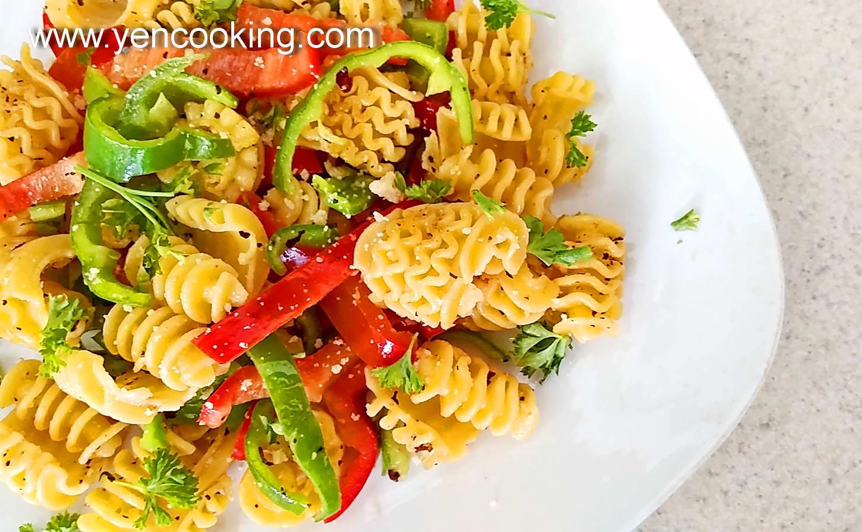 Oriental Stir Fry Armoniche Italian Egg Pasta