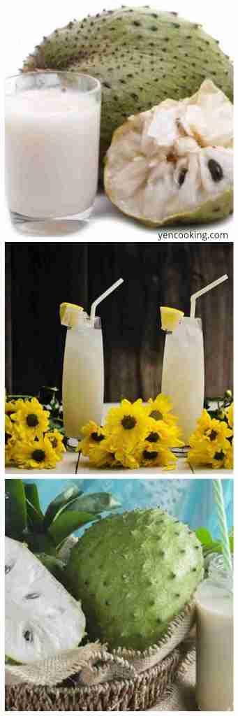 Sarang Tawon Sirsak Juice Soursop Graviola Brazilian Paw Paw Durian Benggala Fruits Concentrate Refreshing Summer Drinks