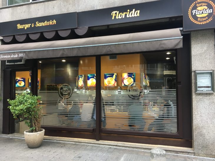 Cafetería Florida de Bilbao