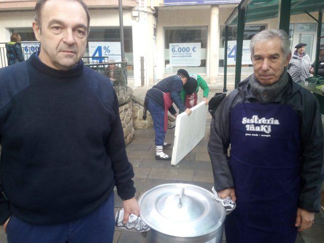 Fernando y Diego, los cocineros