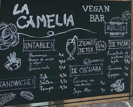 Bar veganoLa Cameliade Bilbao