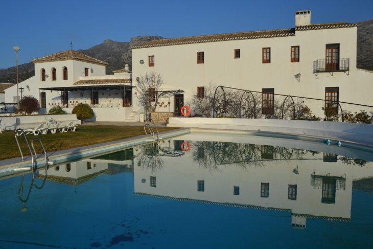 Edificio central del Hotel Villa de Priego
