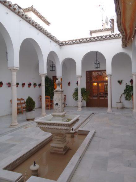 Patio andaluz del Hotel Villa de Priego