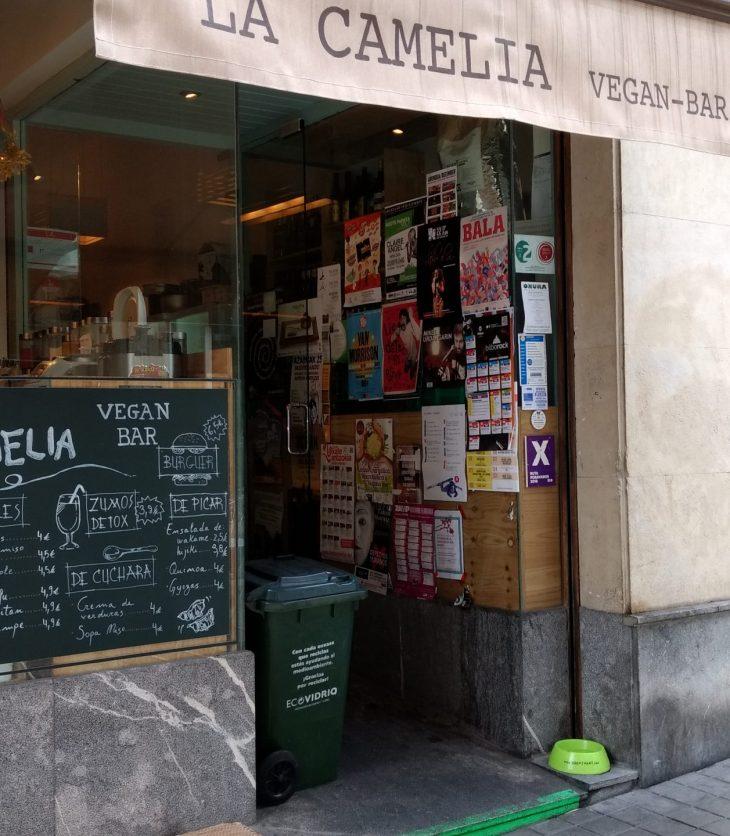 La Camelia Vegan-Bar de Bilbao