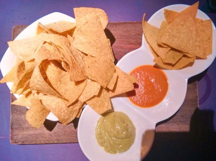 Totopos o Nachos del Restaurante Milagros