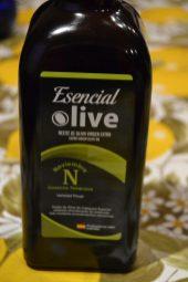 Aceite de oliva verde