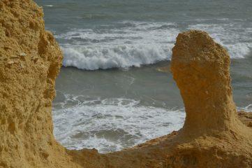 Formaciones en la roca caliza