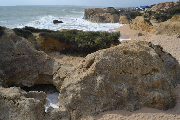 Chiringuitos en Praia Galé
