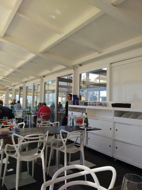 Terraza del Restaurante Evaristo