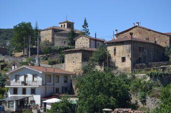 Vista desde el Barrio de Traseras de Puentedey