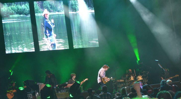 John Fogerty en el Festival Músicos en la Naturaleza 2014 de Gredos