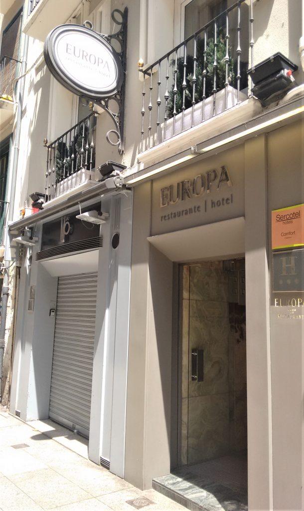 Restaurante Europa de Pamplona