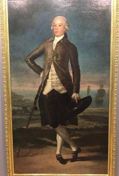 """""""Retrato de Jovellanos en el Arenal"""" de Goya"""