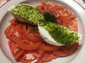 Ensalada Capresse de tomate