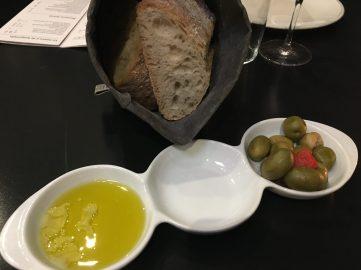 Pan y aperitivos