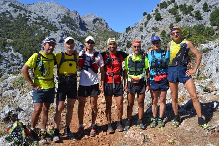Grupo de corredores de Deportemania