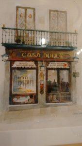 Cuadro del Restaurante Duque