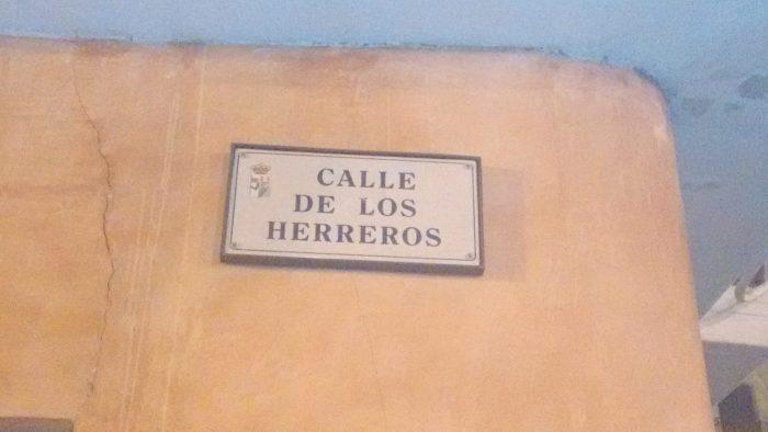 Calle de los Herreros