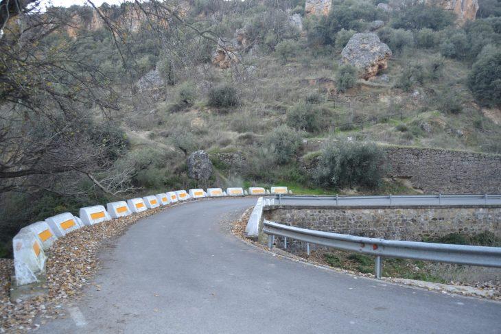 Inicio de la ruta por el Tajo de las Llanás