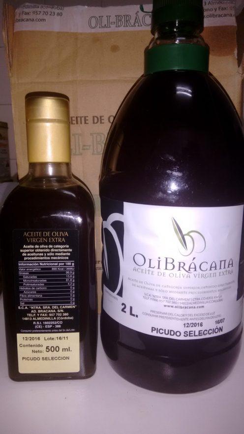 Aceite picudo OliBrácana