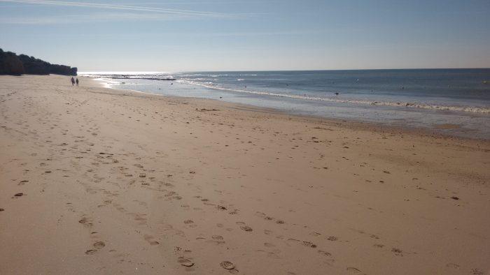Praia Oura este