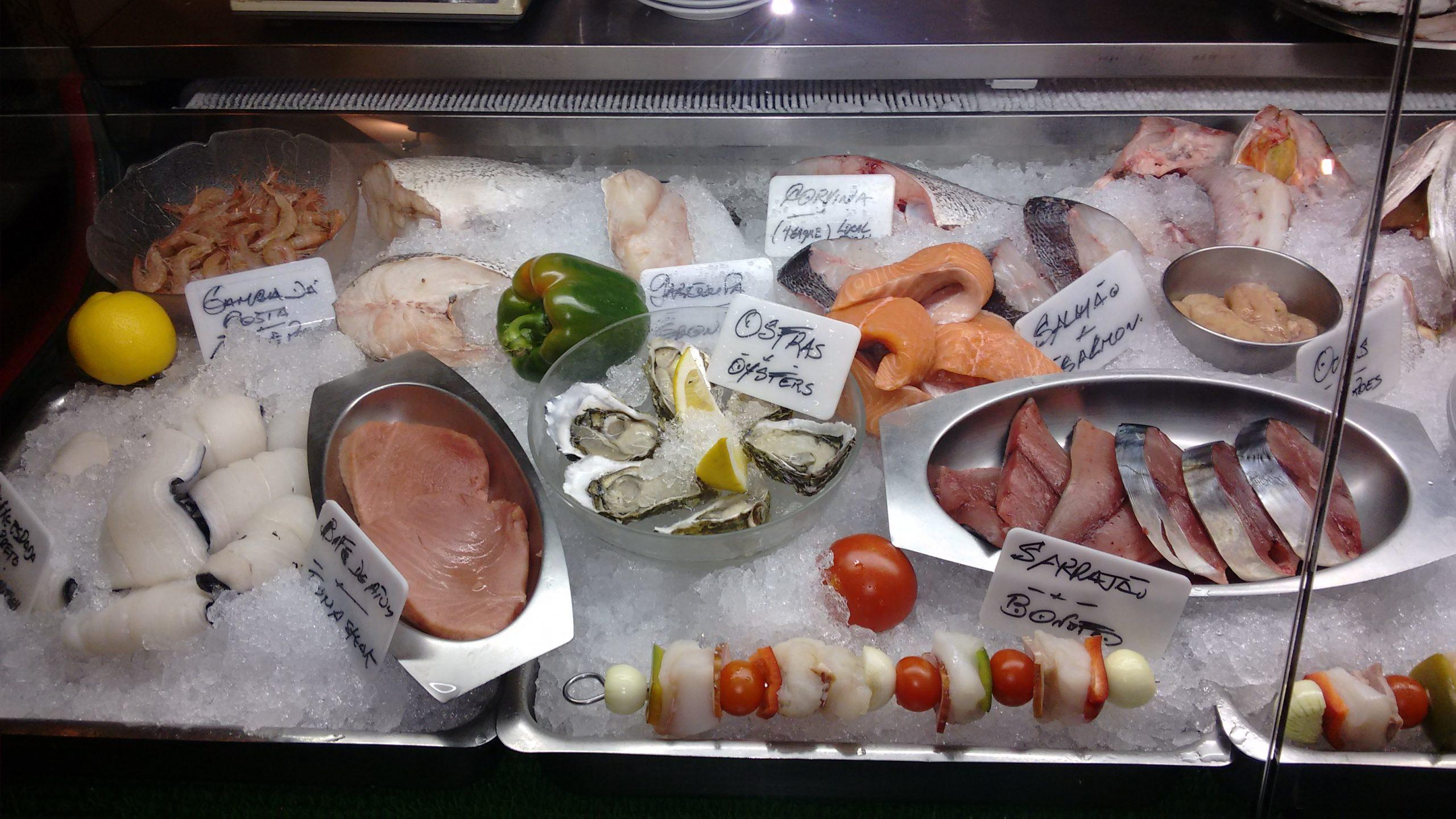 Expositor de pescados