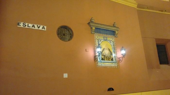 Pared de la Iglesia de San Lorenzo