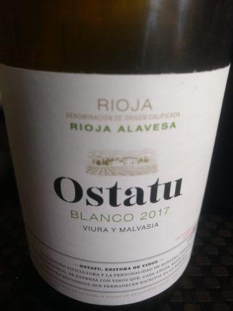 Vino blanco Ostatu