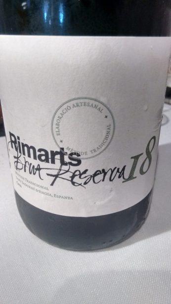 Cava Rimarts Brut reserva 18