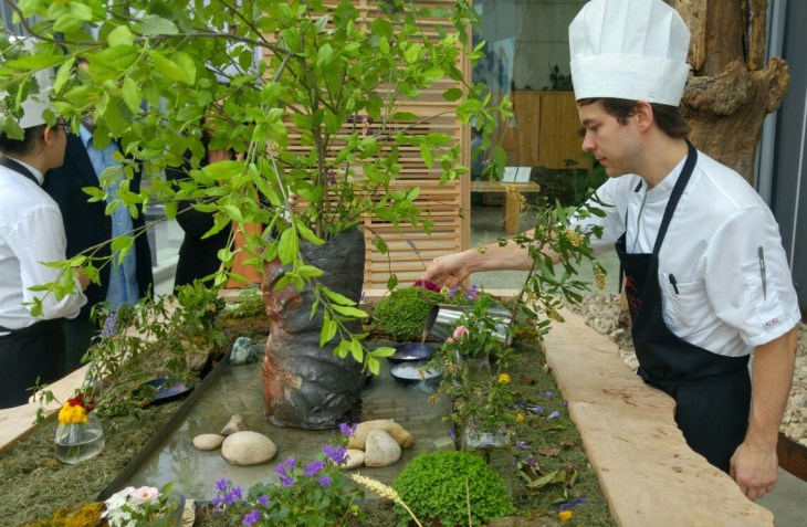 Invernadero del Restaurante Azurmendi