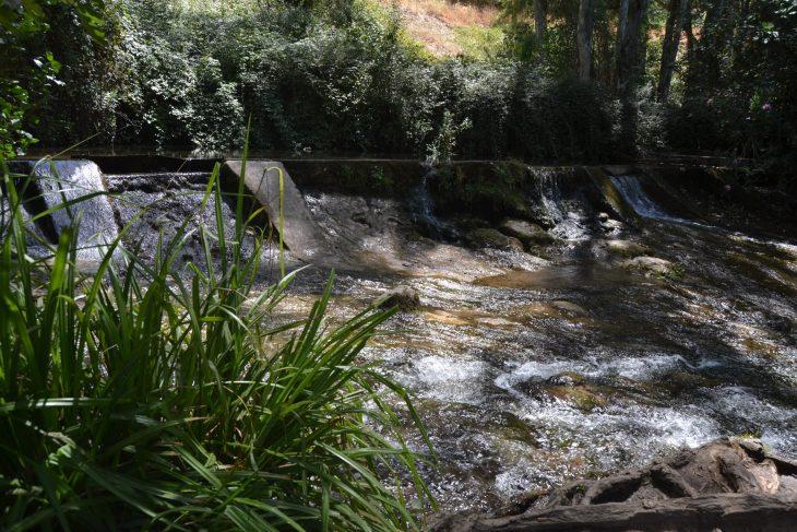 Presa en el Río Majaceite