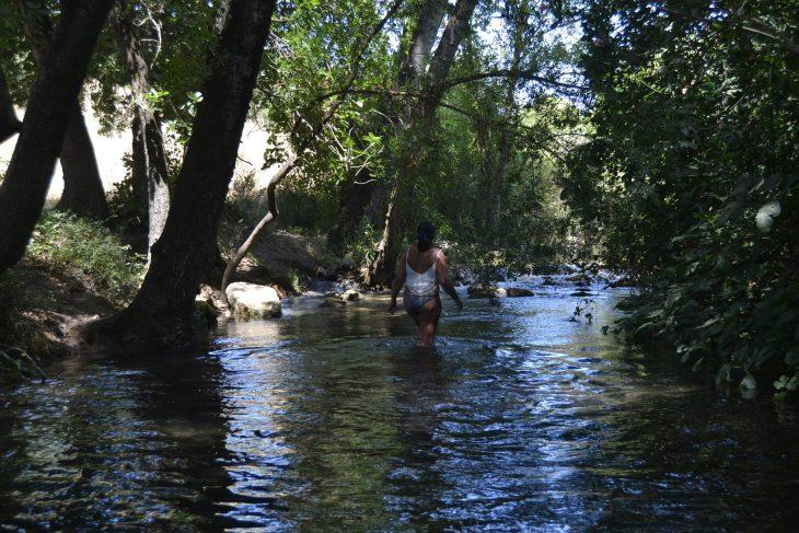 Caminando por las aguas del Río Majaceite