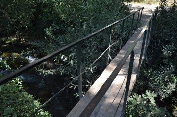 Puente de hormigón sobre el Río Majaceite