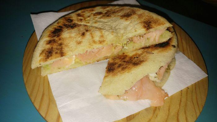 Sandwich de Salmón