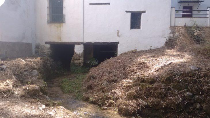 Antiguo molino en Benamahoma