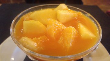 Macedonia de Frutas casera