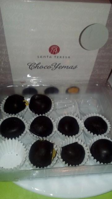 Choco Yemas de Santa Teresa