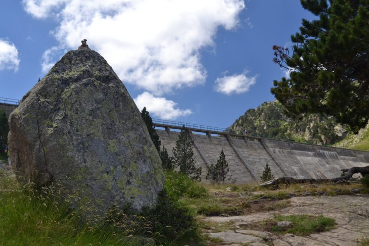 Base de la Presa de Colomérs